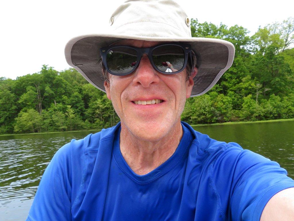 Rowing selfie [Filler] by rhoing