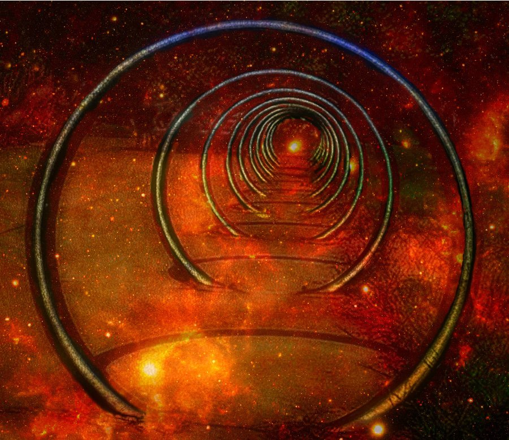 Down The Horizontal Rabbit Hole  by joysfocus