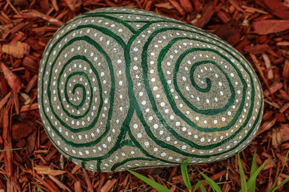 Painted Rock by vera365
