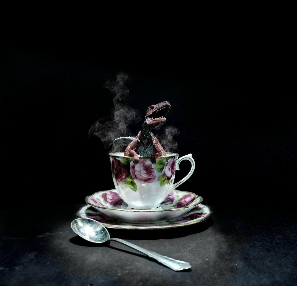 tea-rex by graemestevens