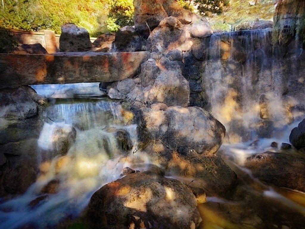 Waterfall In Shadows by joysfocus