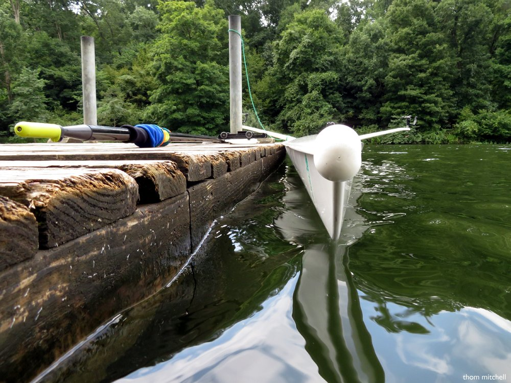 Rowing shell: A different view by rhoing