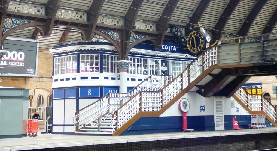 The Old Signal Box by fishers