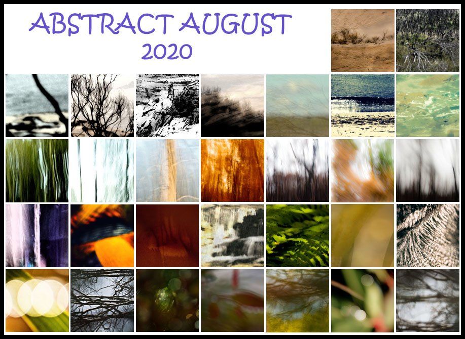 ABSTRACT AUGUST 2020 by annied