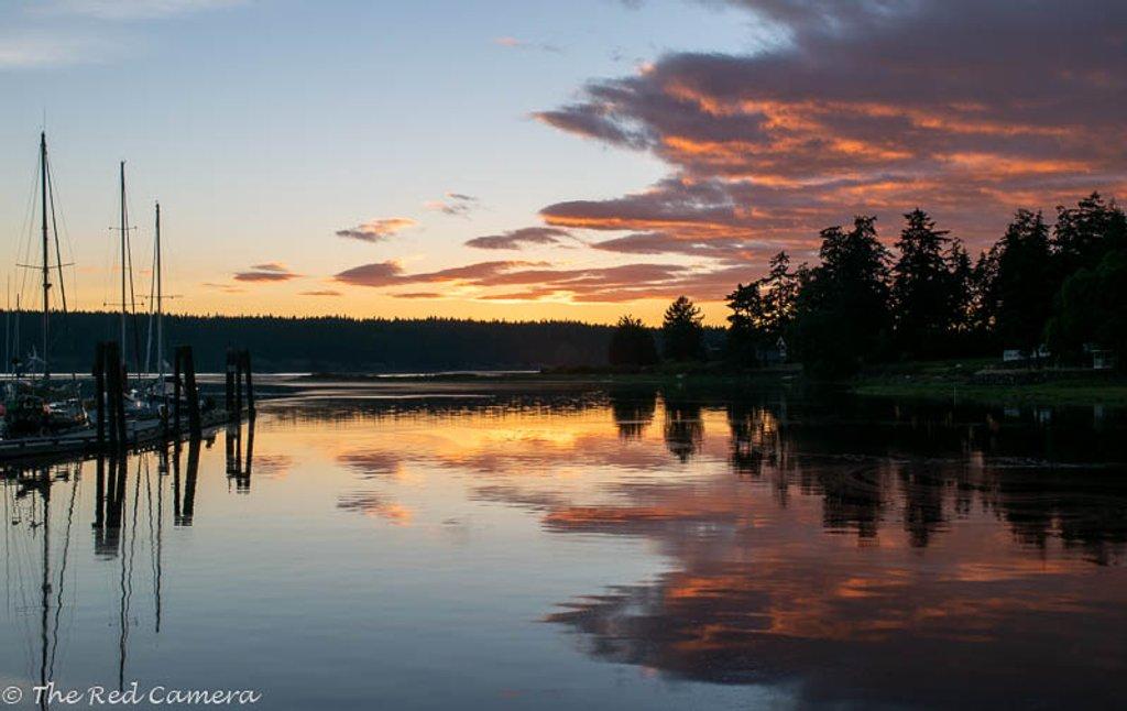 Mystery Bay Sunset 2 by theredcamera