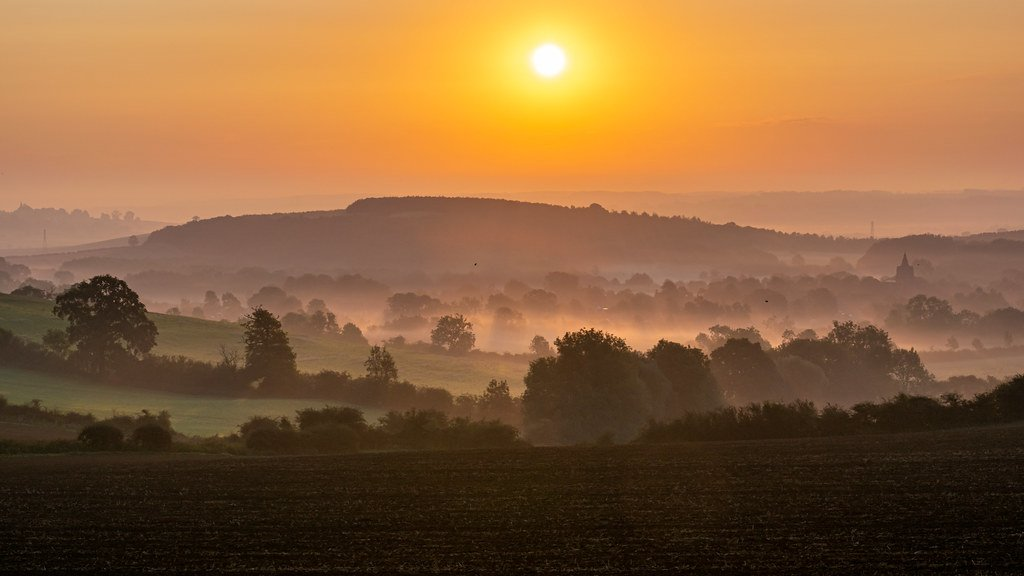Another Misty Morning!  by rjb71