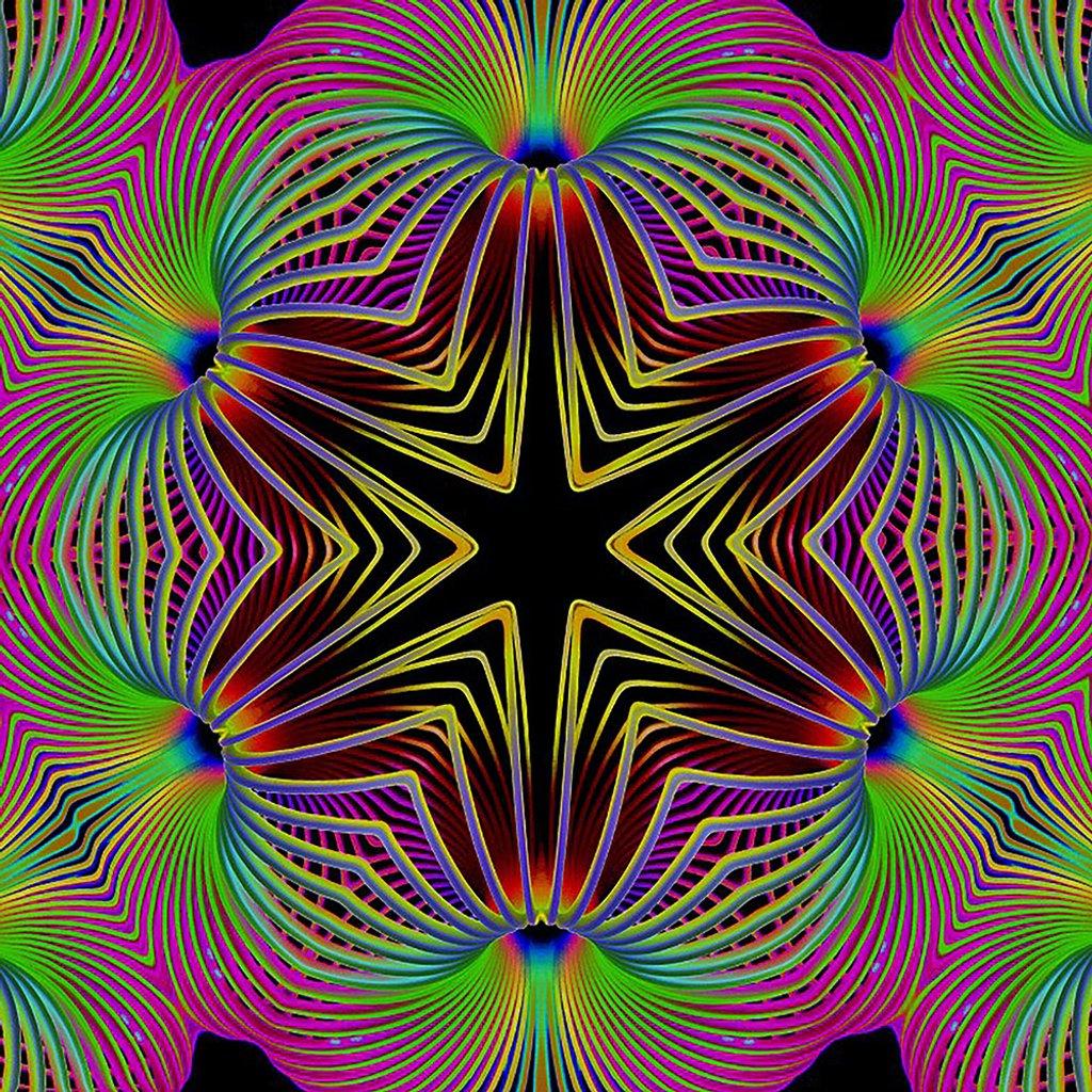 Slinky Kaleidoscope  by onewing