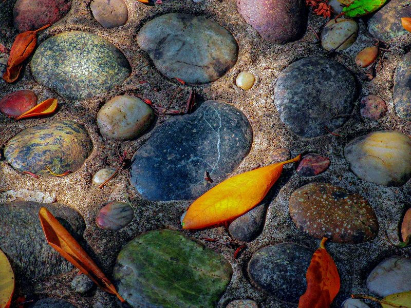 Rocks in the Garden by granagringa