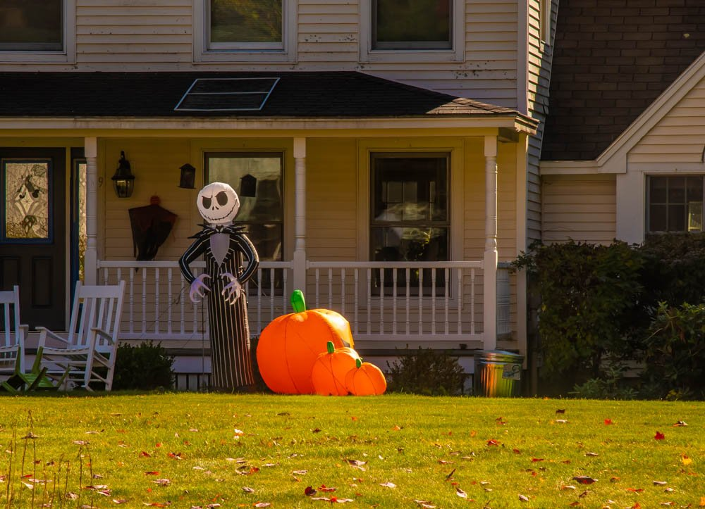 Halloween decorations by joansmor