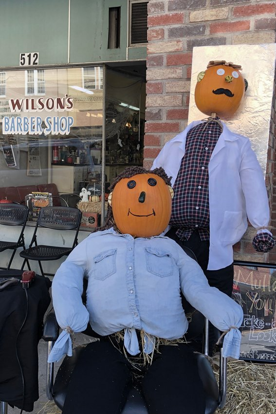 Barber Shop Pumpkinheads.... by lsquared