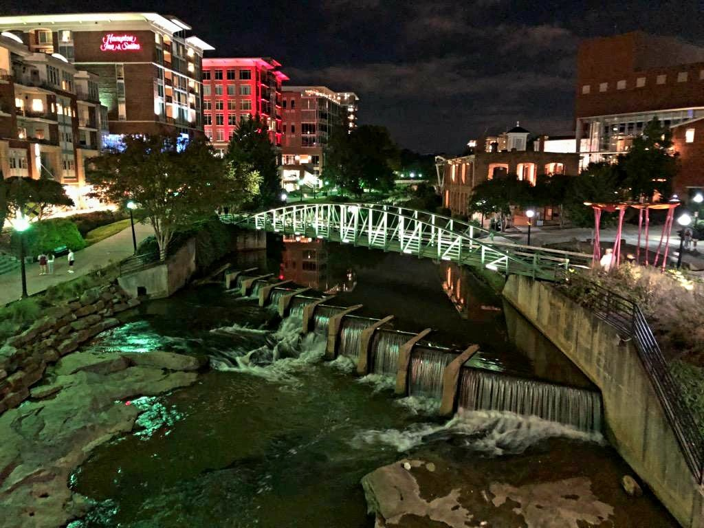 Downtown Greenville, South Carolina II by harbie
