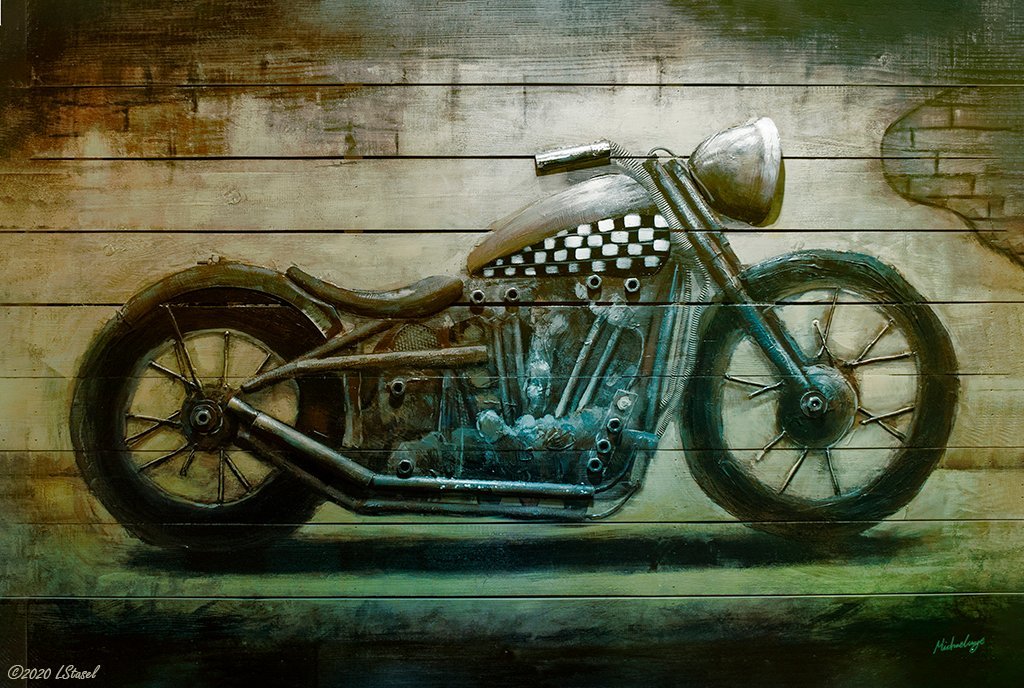 Motorcycle Art by lstasel