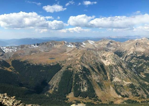 View From the Top of Mt Huron by harbie