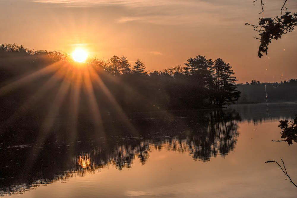 Sunday Sunrise on Estes by joansmor