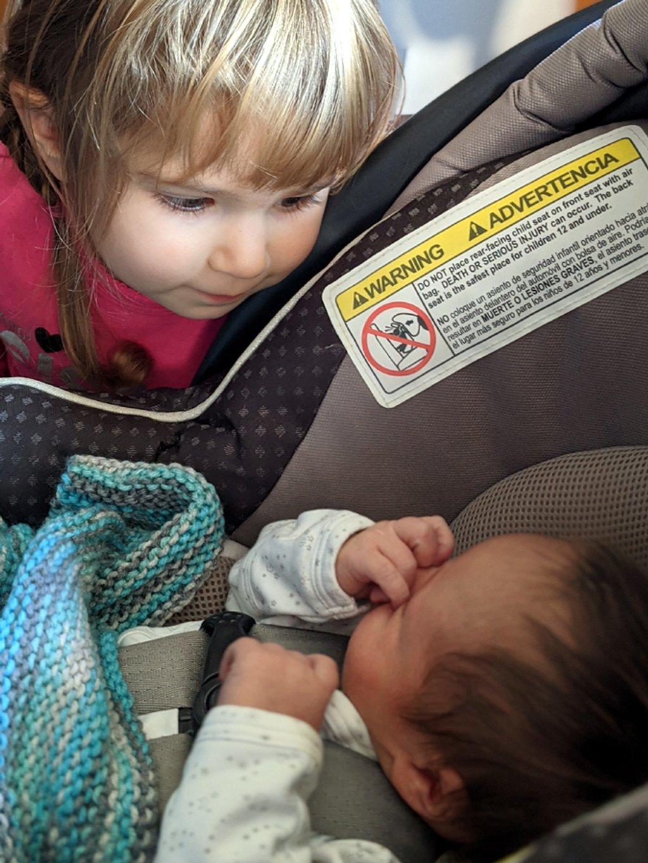 Siblings meet by rhoing