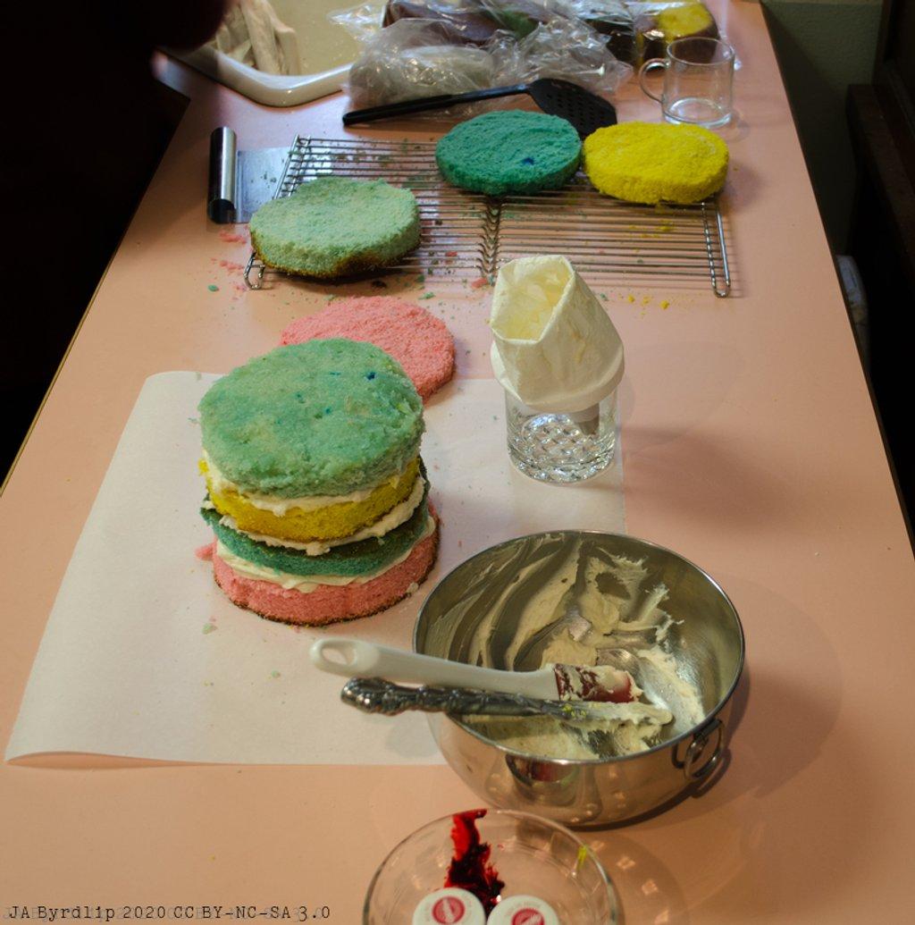Cake Making - V by byrdlip