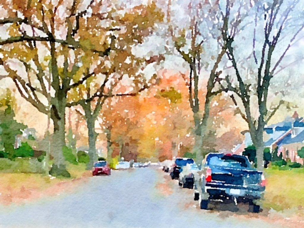 An Autumn Scene by allie912