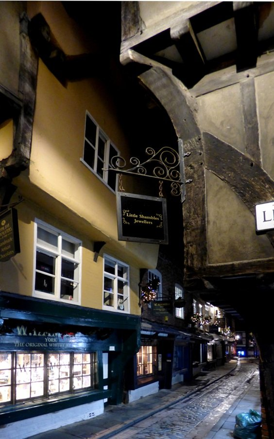 The Shambles at Night (2) by fishers