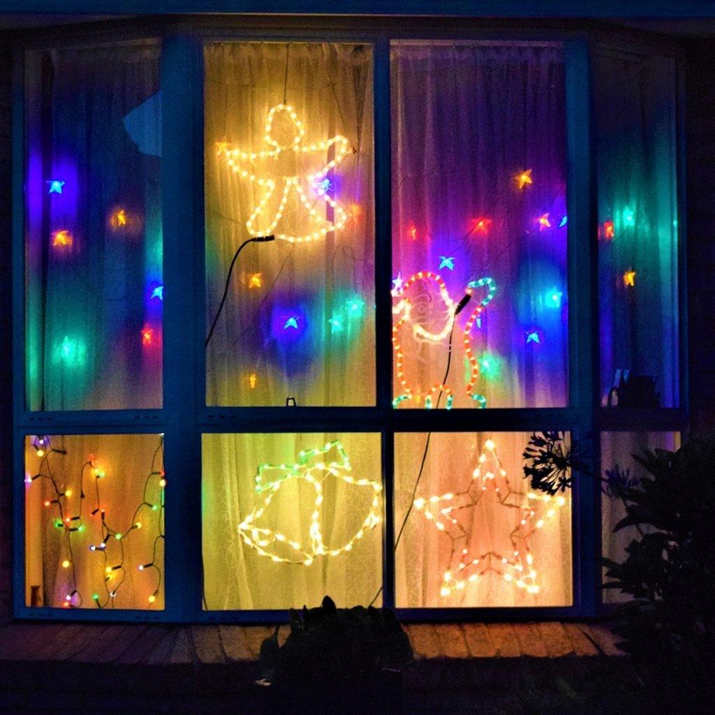 Christmas Window Decorations ~ by happysnaps