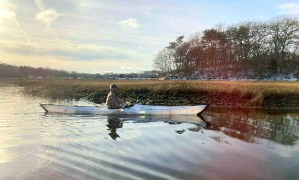 Kayaking by harbie