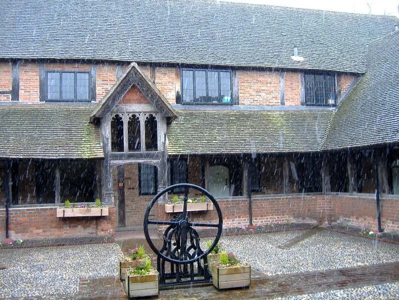 Almshouses, Ewelme, Oxfordshire - February 2006 by fishers