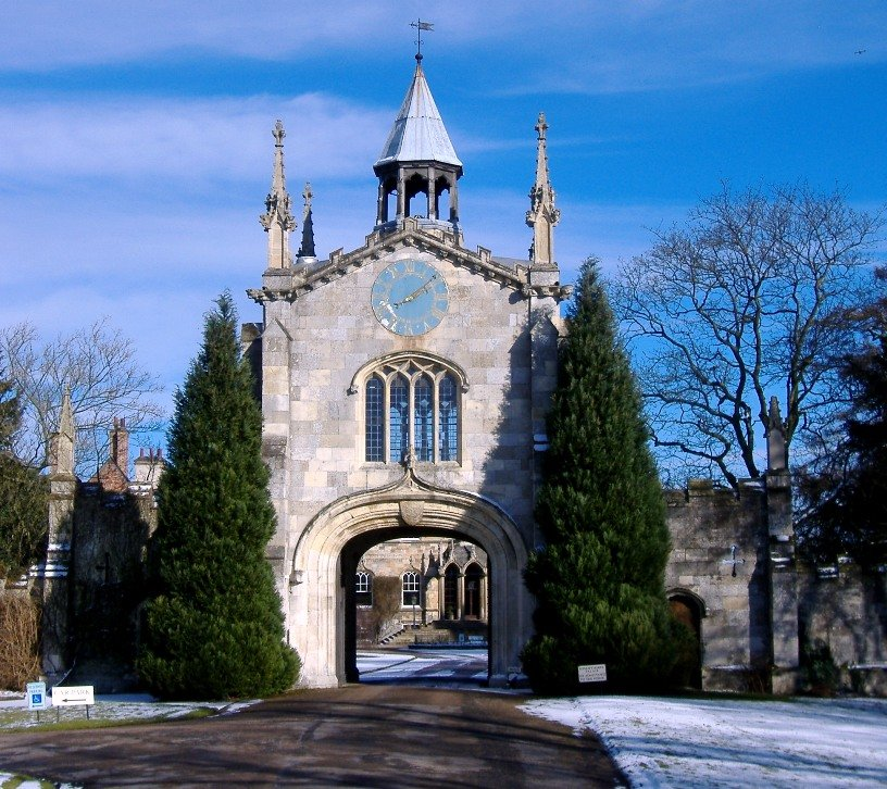 Gatehouse, Bishopthorpe Palace, York - March 2006 by fishers