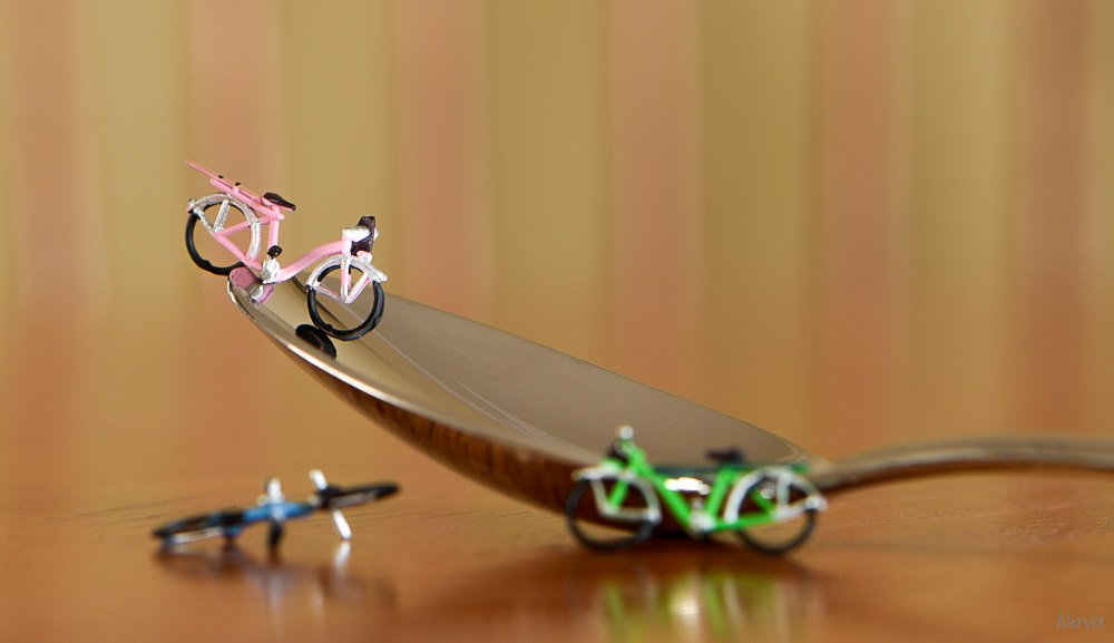 3 bikes & 1 spoon by novab