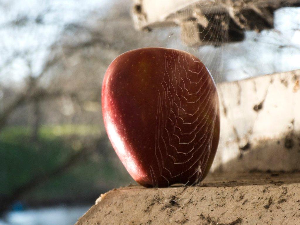Spooky Apple by helenhall