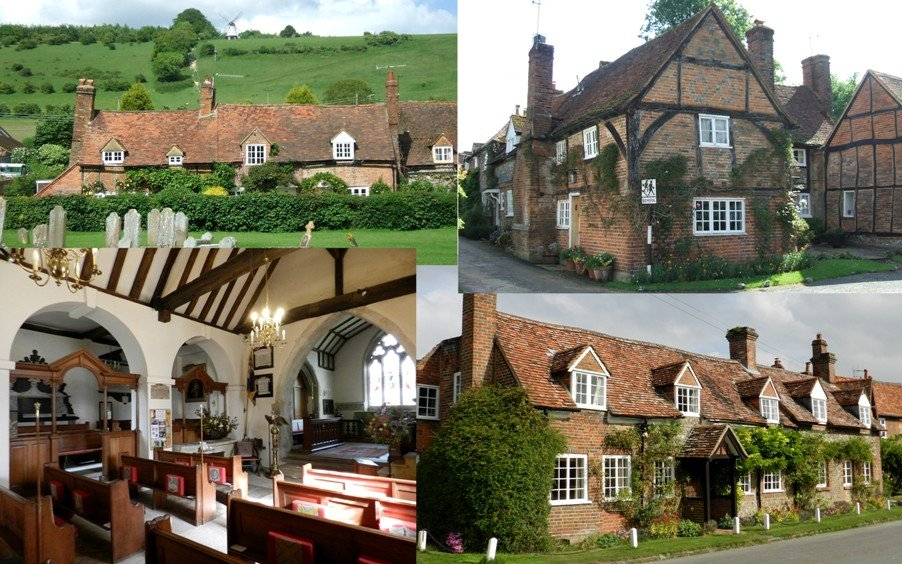 Midsomer Locations - Turville by fishers