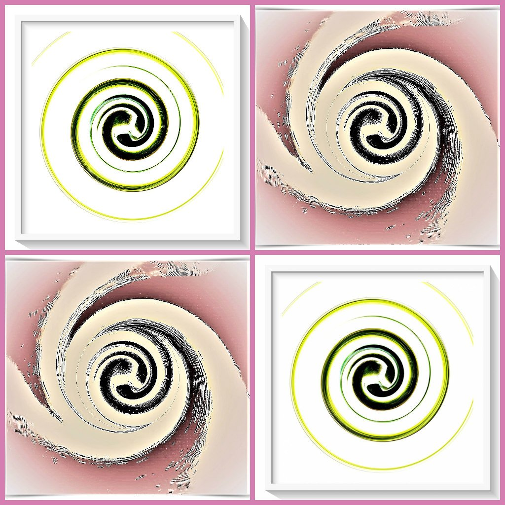 In a twirl  by beryl