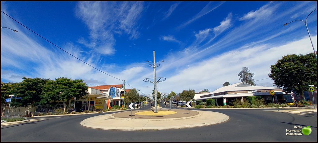 At the Nanango roundabout  by kerenmcsweeney