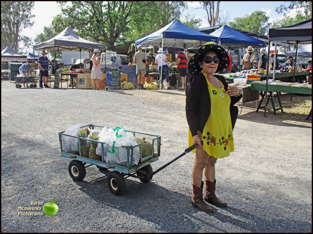 At the Nanango country market by kerenmcsweeney