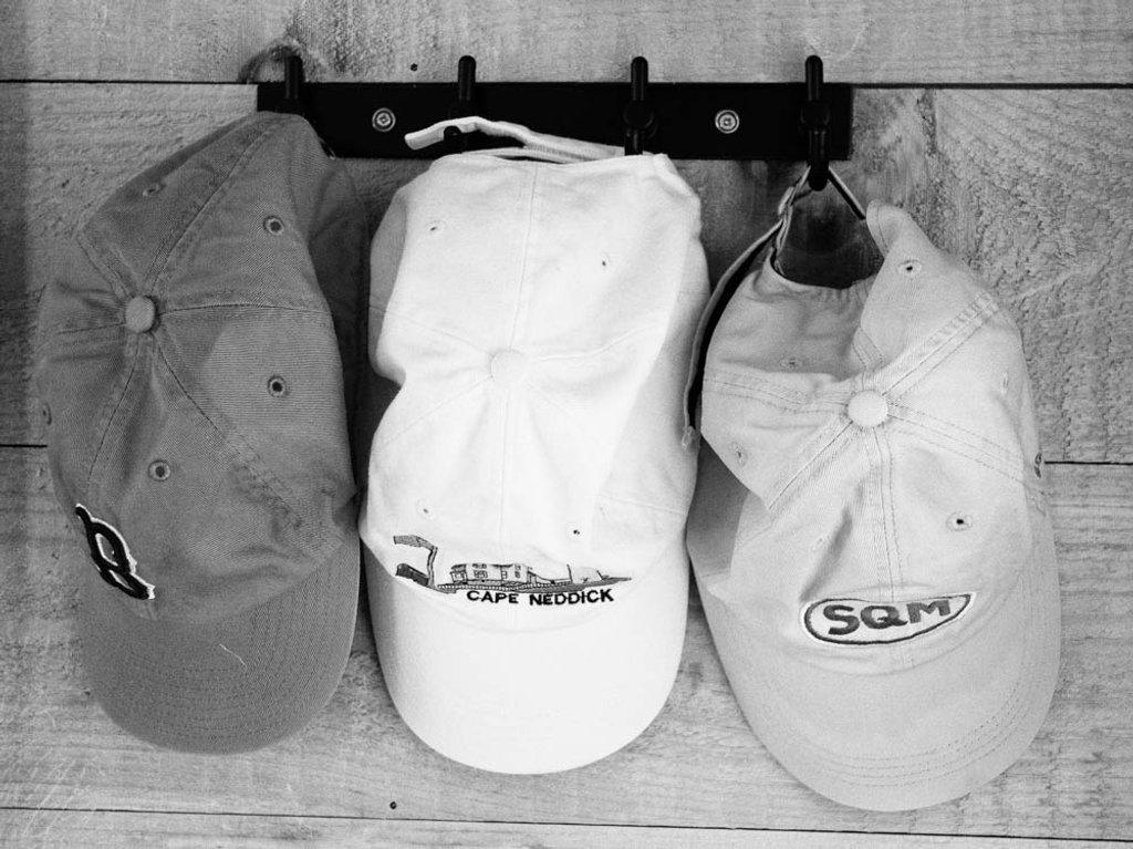 Hubby's Hats by joansmor