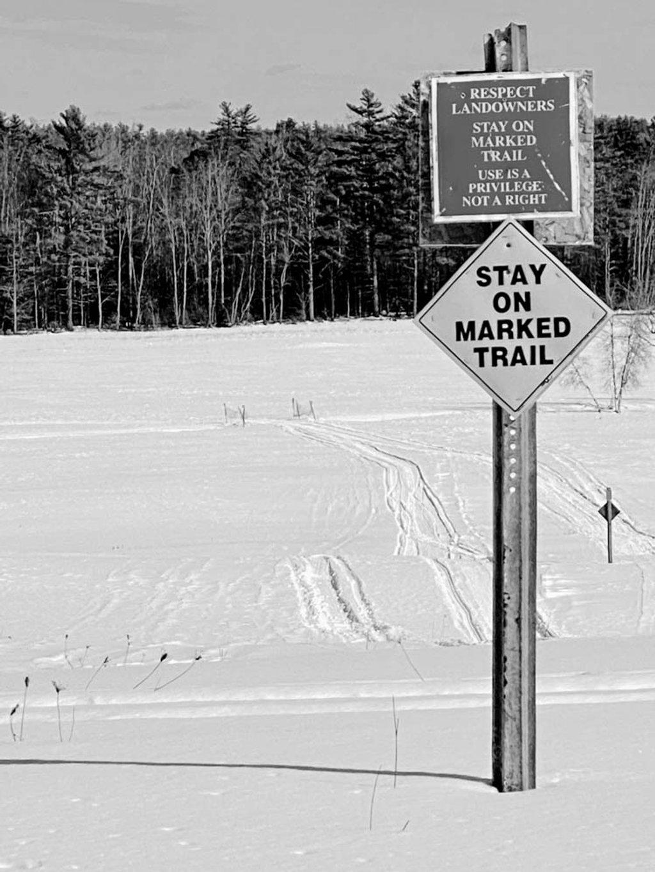 Snowmobile Trail by joansmor