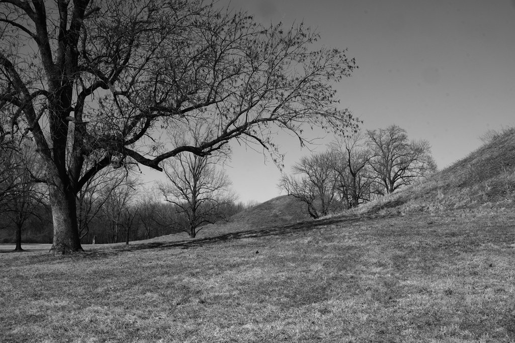 Twin Mounds by lsquared