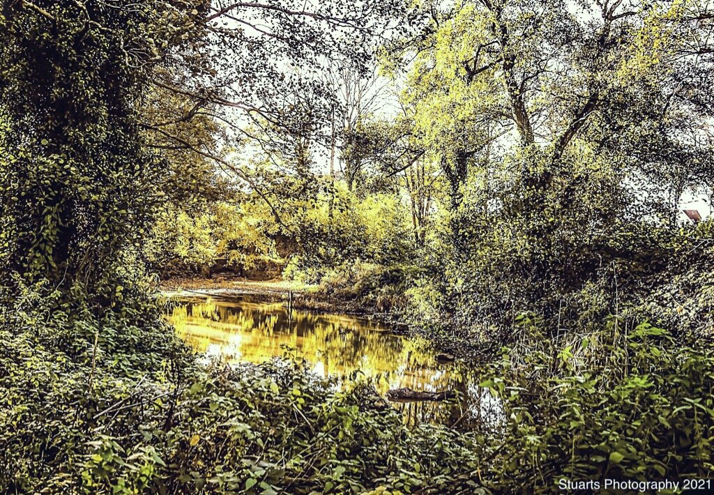 Hidden lake  by stuart46