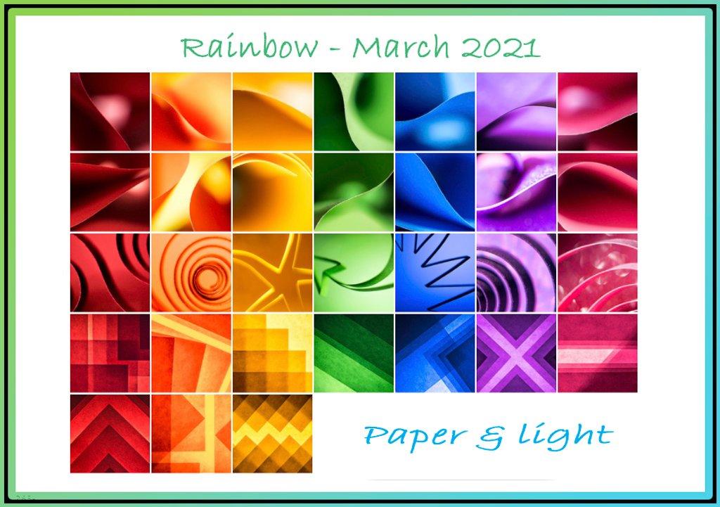 Rainbow calendar by novab