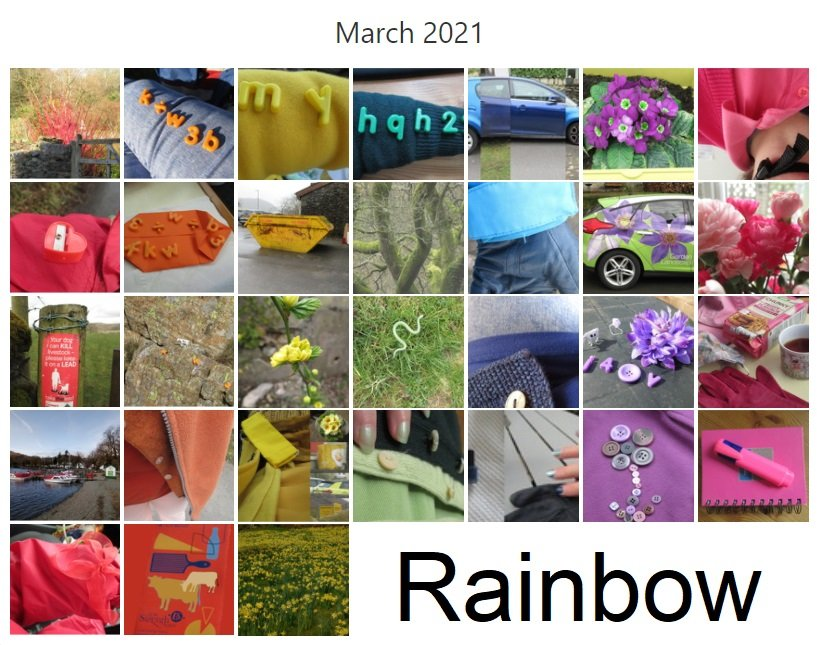 rainbow month by anniesue