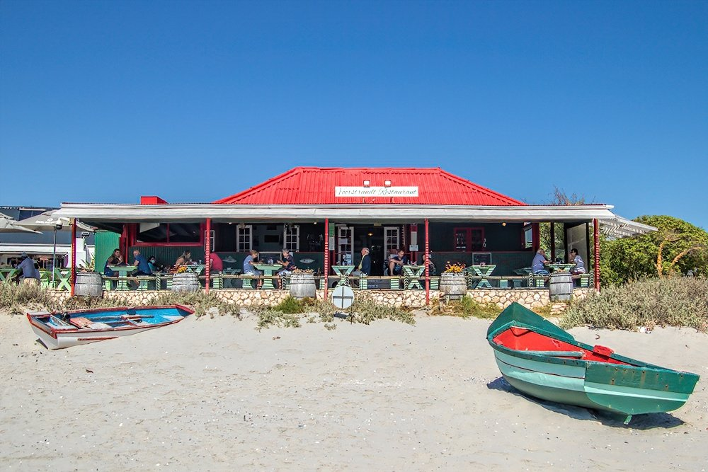Voorstrand restaurant in Paternoster by ludwigsdiana