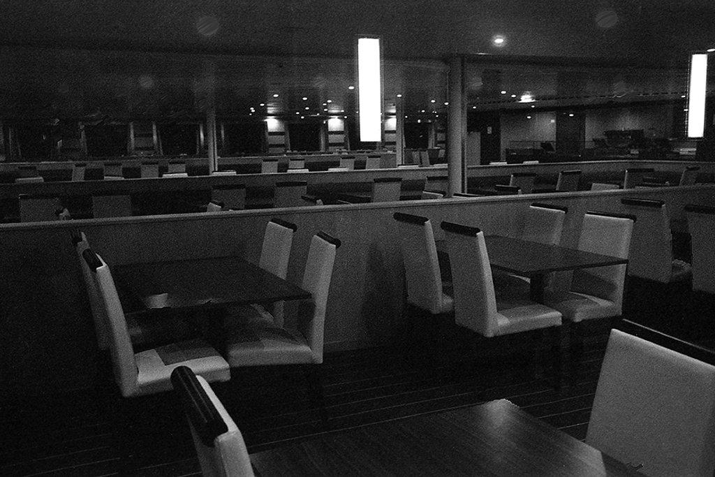 Emptiness over the sea by domenicododaro