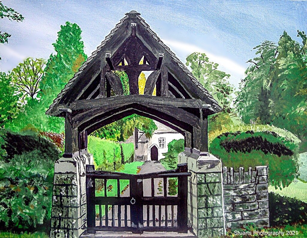 Lych gate  by stuart46