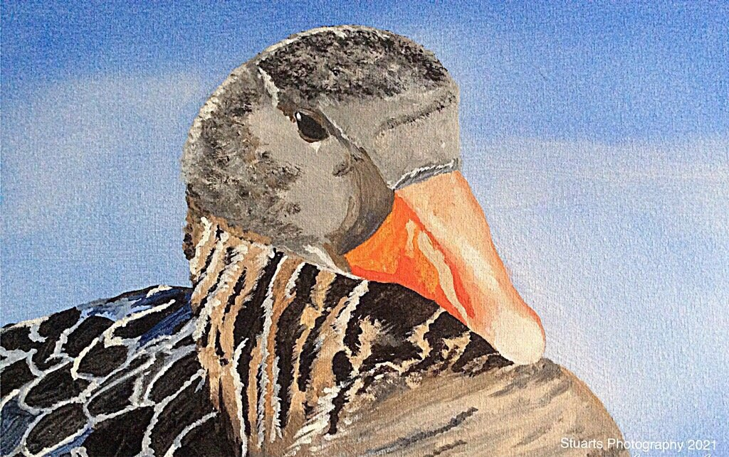 Mother Goose (painting) by stuart46
