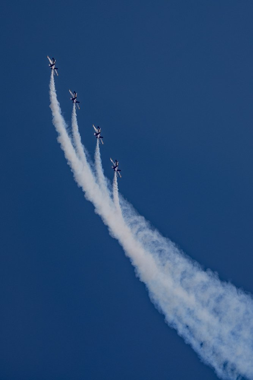 Blue Angels formation by jyokota