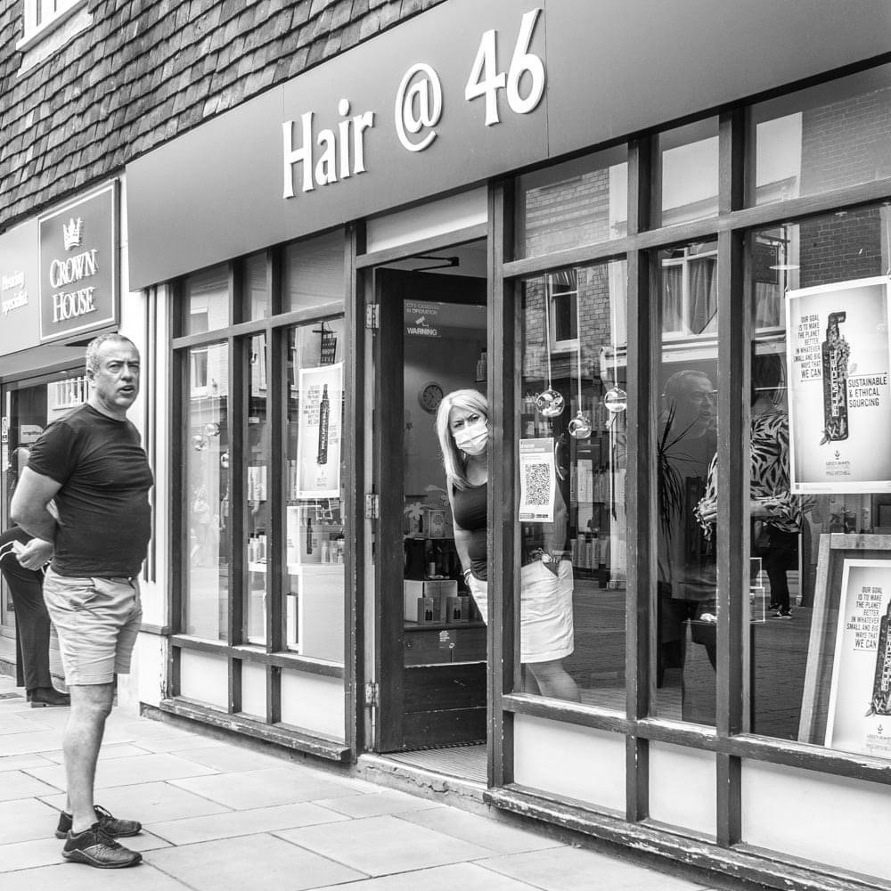Looking for a haircut  by barrowlane