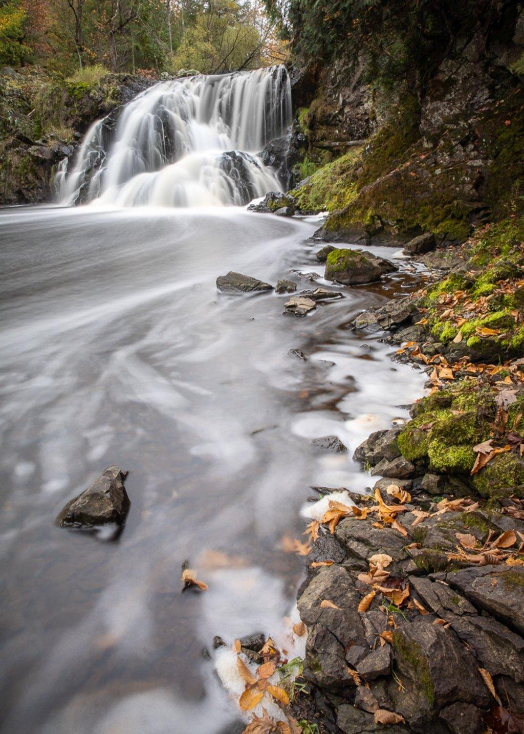 Interstate Waterfall by jyokota