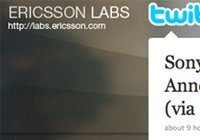 Ericsson Labs twittert over lancering Xperia X3 in november