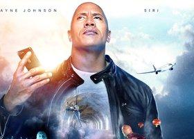 Kijken: Apple presenteert Siri-film met Dwayne The Rock Johnson