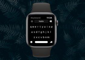 Shift Keyboard: berichten typen met een volledig toetsenbord op je Apple Watch