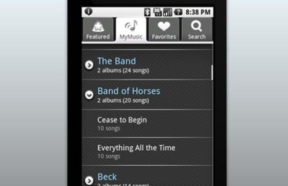Imeem synchroniseert je muziekcollectie met Android