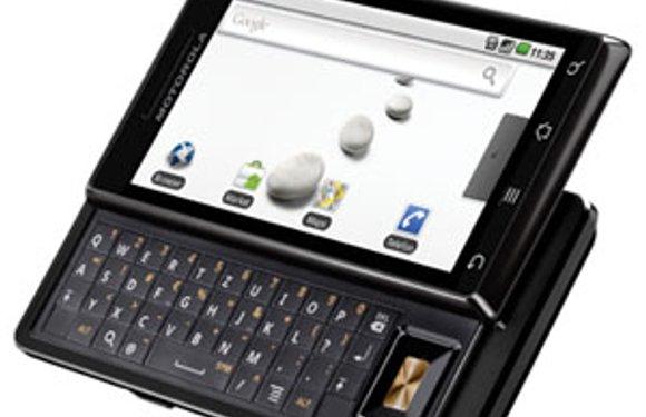 Motorola Milestone binnen een week in Nederland voor 549 euro